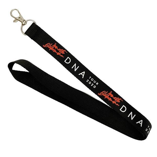 Jeanette Biedermann - DNA Schlüsselband [schwarz]