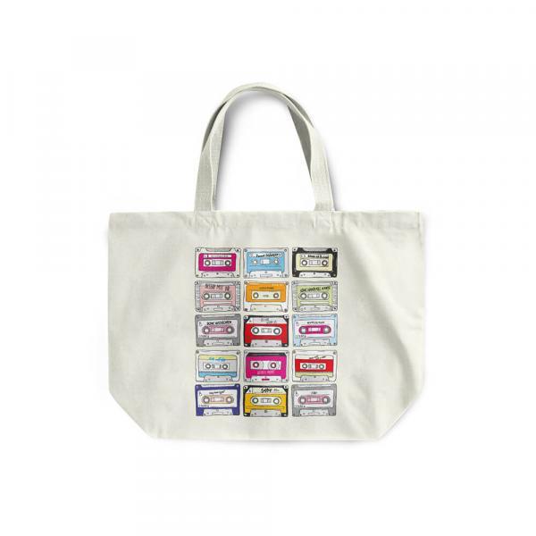 """Jeanette Biedermann - Shopper Bag """"Kassetten"""""""