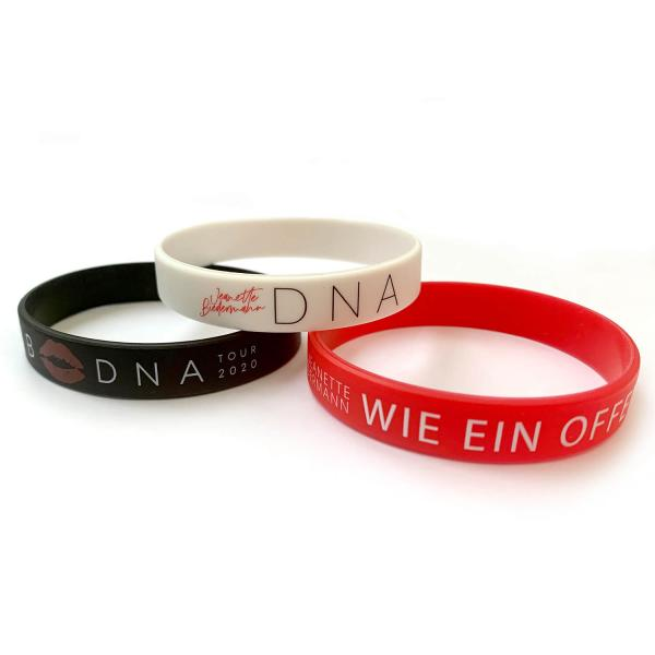 Jeanette Biedermann - DNA 3er Fanband Set
