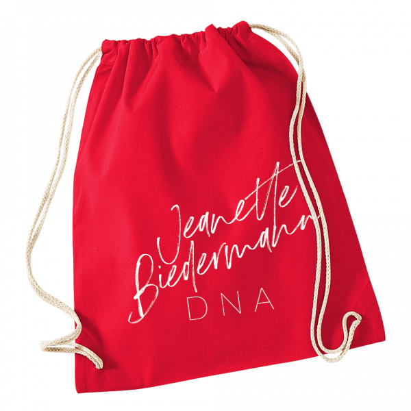 Jeanette Biedermann - DNA Turnbeutel